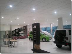 Iluminación de la exposición del concesionario FIAT en Córdoba (2/6)