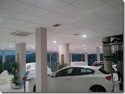 Iluminación de la exposición del concesionario FIAT en Córdoba (6/6)