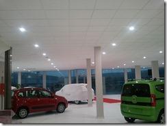 Iluminación de la exposición del concesionario FIAT en Córdoba (3/6)