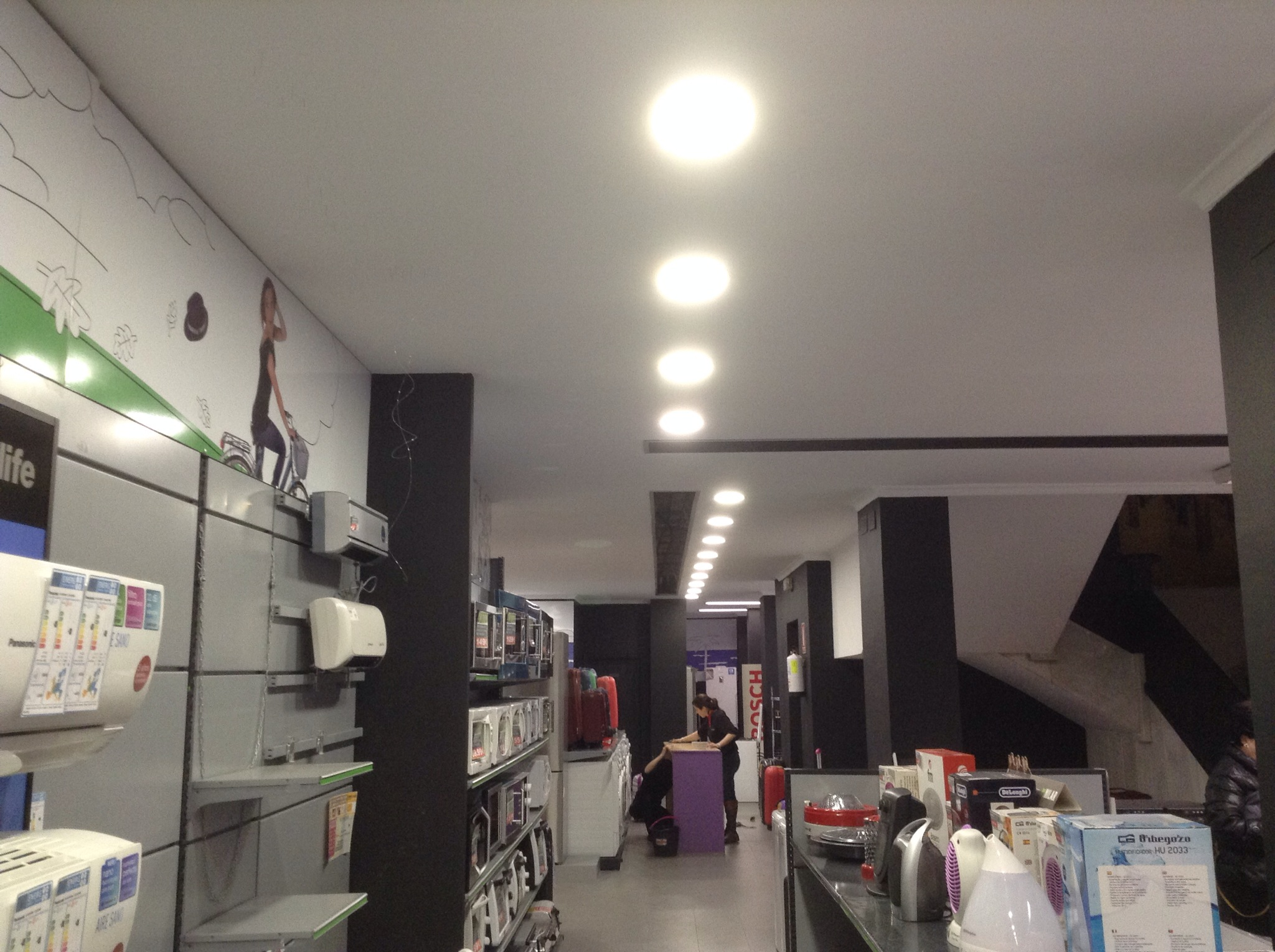 Actuaci n sobre iluminaci n en tiendas milar lucena instalacionesfb - Lamparas lucena ...
